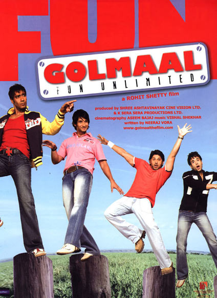 Movie poster of Golmaal