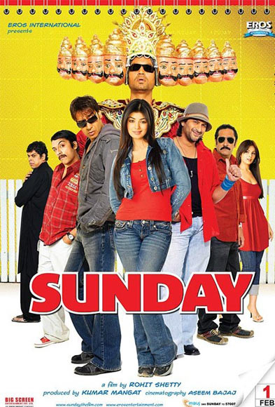 Movie poster of Sunday
