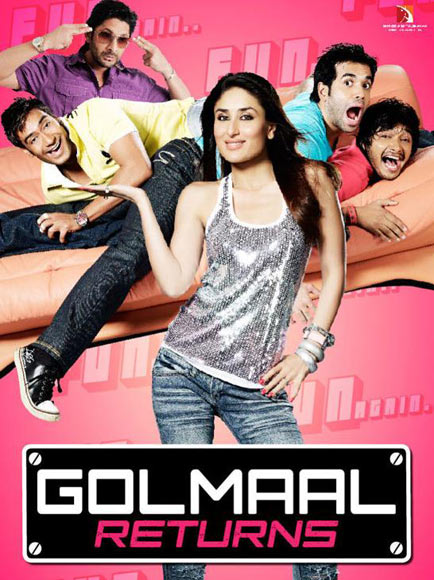 Movie poster of Golmaal Returns