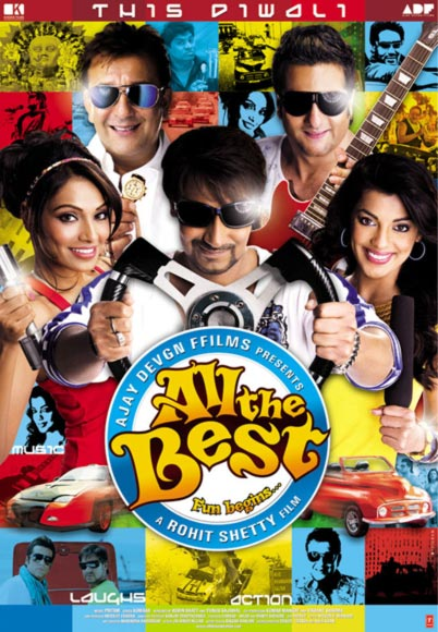 Movie poster of All The Best