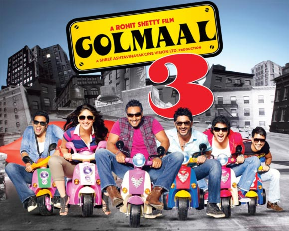 Movie poster of Golmaal 3