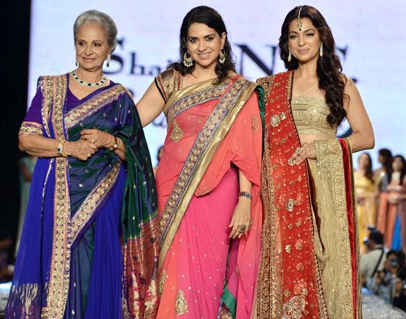 Waheeda Rehman, Shaina NC, Juhi Chawla
