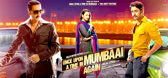 Movie poster of Once Upon A Time In Mumbaai Again