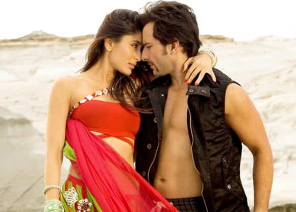Saif Ali Khan and Kareena Kapoor in Tashan