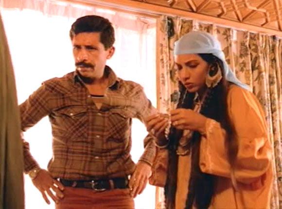 Naseeruddin Shah and Shabana Azmi in Khamosh