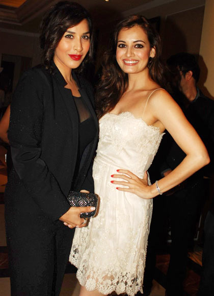 Sophie Choudry and Dia Mirza