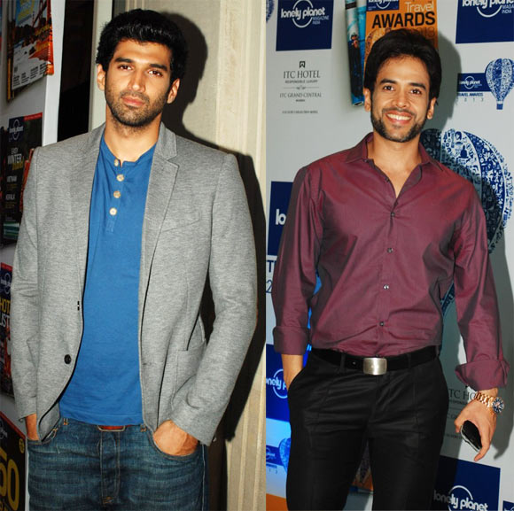 Aditya Roy Kapur and Tusshar Kapoor