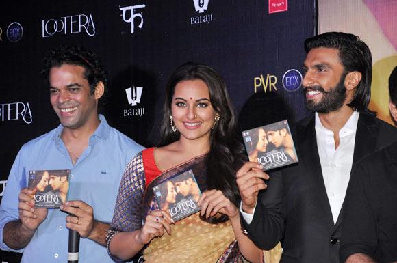 Vikramaditya Motwane, Sonakshi Sinha and Ranveer Singh