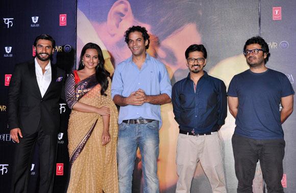 Ranveer Singh, Sonakshi Sinha, Vikramaditya Motwane, Amit Trivedi and Vikas Bahl