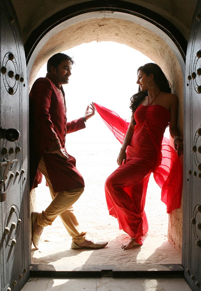 Shiva and Isha in Thillu Mullu