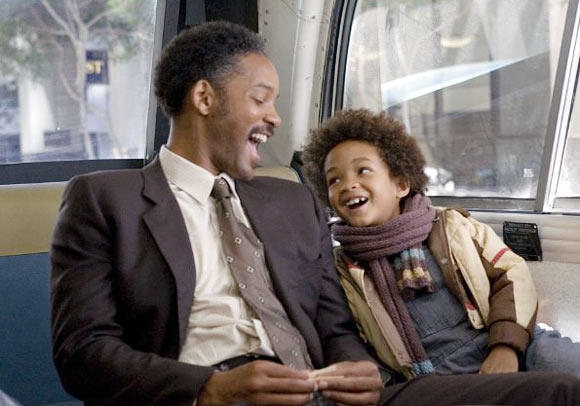 Will and Jaden Smith in The Pursuit Of Happyness