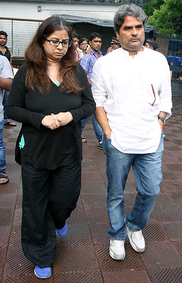 Vishal and Rekha Bharadwaj