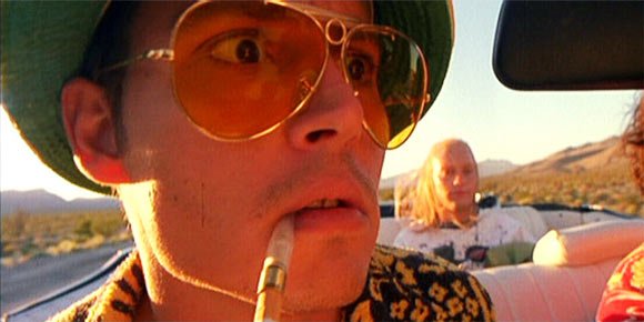 Johnny Depp Las Vegas Film
