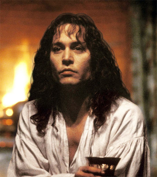 Johnny Depp in The Libertine