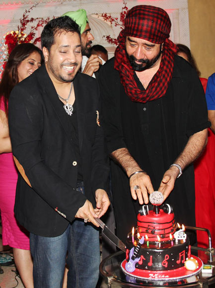 Mika Singh and GS Bawa