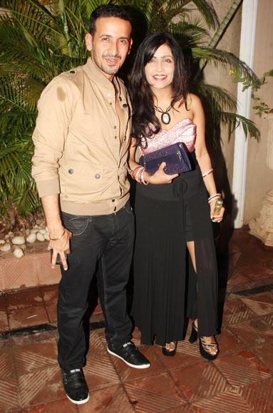 Manmeet and Shibani Kashyap