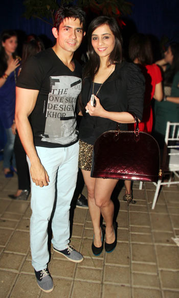 Hussain and Tina Kuwajerwala
