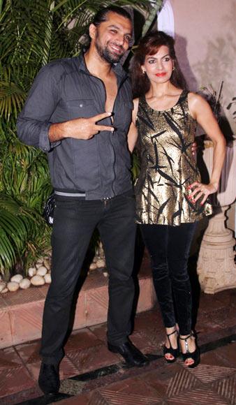 Chetan Hansraj and Lavania Pereira