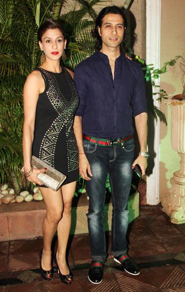 Apurva Agnihotri and Shilpa Saklani