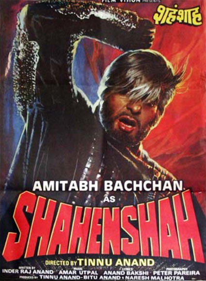 After burning his hands in politics, Amitabh Bachchan made a comeback to movies with Tinnu Anand's super-successful Shahenshah.