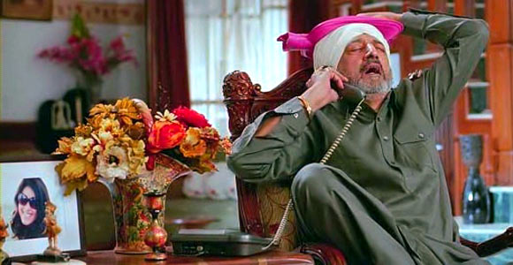 Tinnu Anand played a Sardar in Tere Naal Love Hua, which released earlier this year.