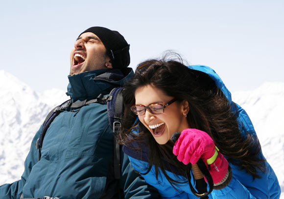 Ranbir Kapoor and Deepika Padukone in Yeh Jawani Hai Deewani