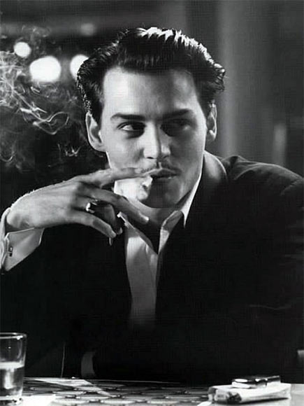 Johnny Depp in and as Ed Wood