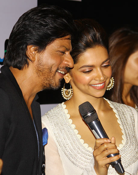 Shah Rukh Khan and Deepika Padukone