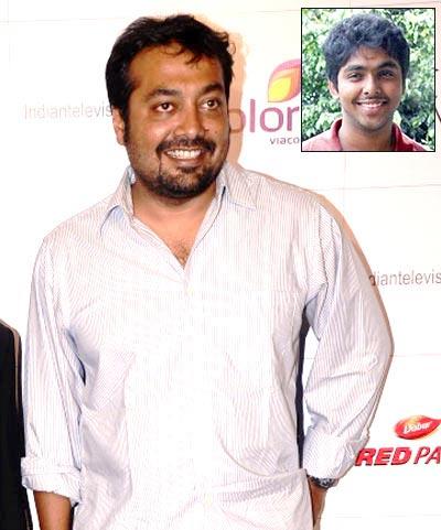 Anurag Kashyap. Inset: GV Prakash Kumar
