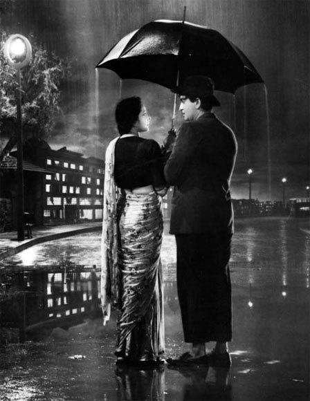 Raj Kapoor and Nargis in Shree 420