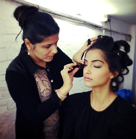 Sonam Kapoor and Namrata Soni