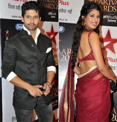 Ravi Dubey and Aishwarya Sakhuja