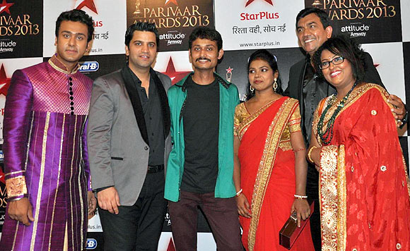 Ripudaman Handa, Kunal Kapoor, Navneet Rastogi, Khoku Patra, Sanjeev Kapoor and Doyel Sarangi