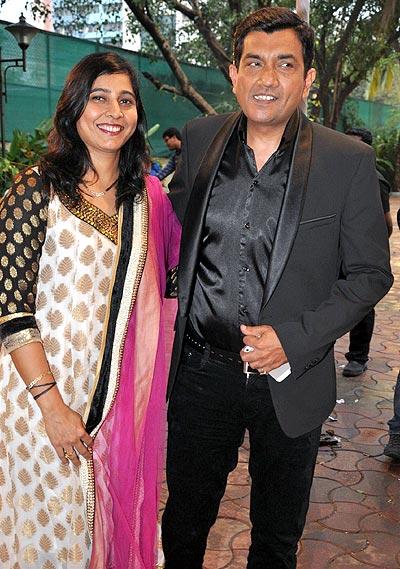 Sanjeev Kapoor and Alyona Kapoor