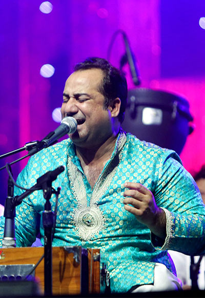 Rahat Fateh Ali Khan at the concert