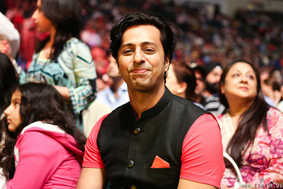 Salim Merchant at the concert