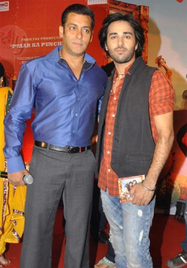 Salman Khan and Pulkit Samrat