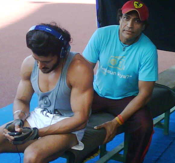 Farhan Akhtar with Samir Jaura