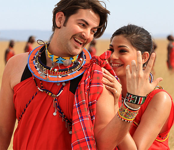Neil Nitin Mukesh and Puja Gupta in Shortcut Romeo