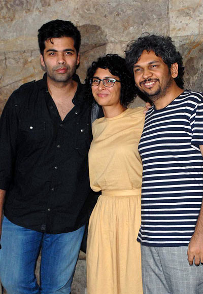 Karan Johar, Kiran Rao and Anand Gandhi