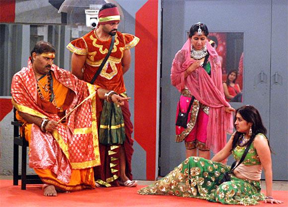 Narendra Babu Sharma (extreme left)