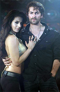 Ameesha Patel and Neil Nitin Mukesh in Shortcut Romeo