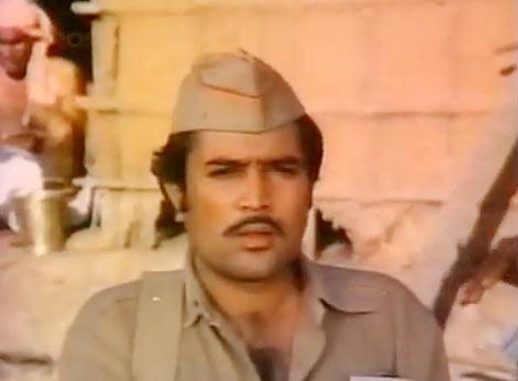 Rajesh Khanna in Palkon Ki Chhaon Mein