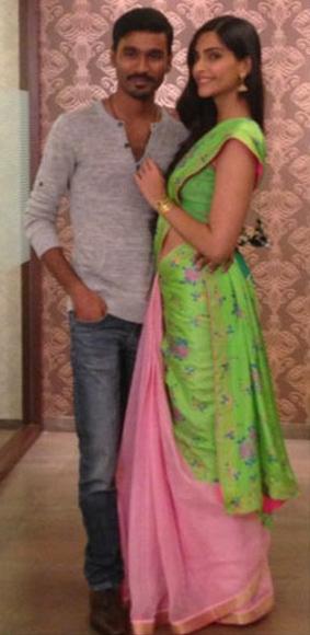 Dhanush and Sonam Kapoor