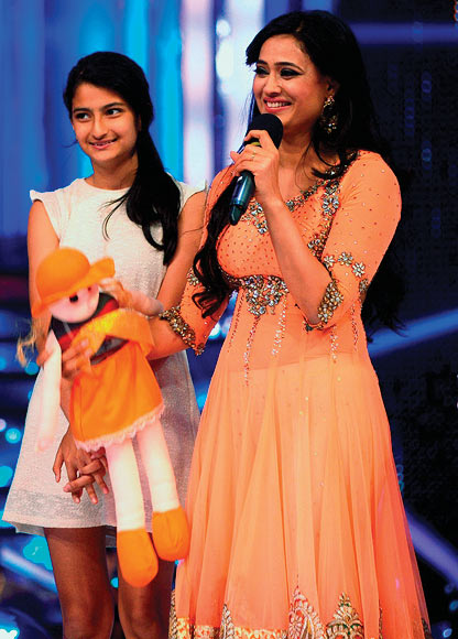 Shweta Tiwari with daughter Palak