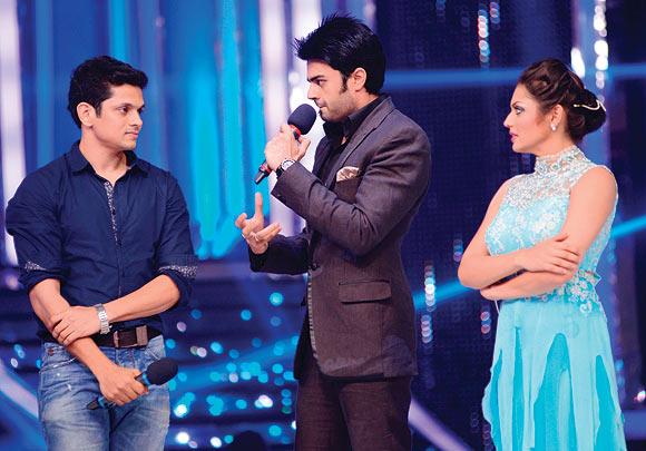 Jaisheel, Jay Bhanushali and Drashti Dhami