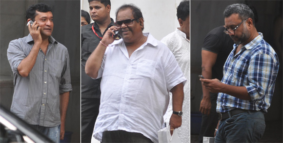 Ken Ghosh, Satish Kaushik and Anubhav Sinha