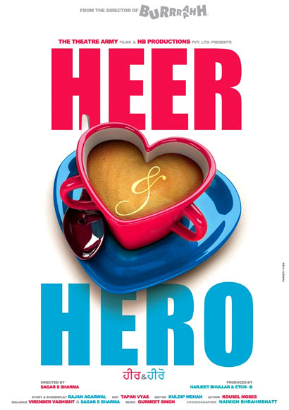 The Heer and Hero poster
