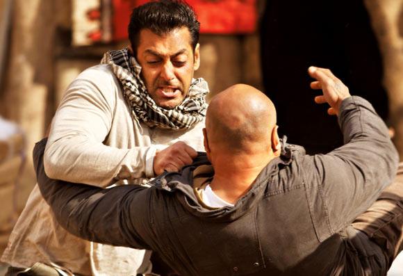 Salman Khan in Ek Tha Tiger