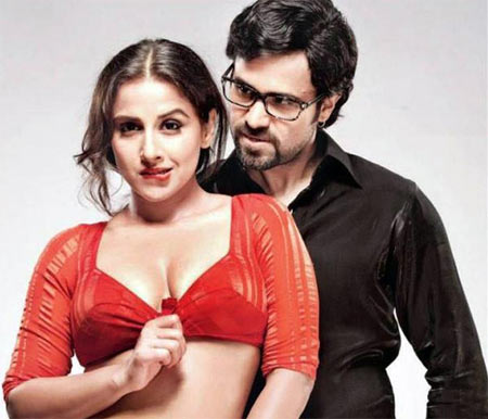Vidya Balan and Emraan Hashmi in The Dirty Picture